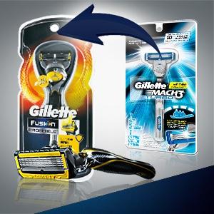 Gillette Mach3 Turbo Razor
