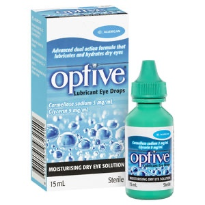 Optive Lubricant Eye Drops 15mL
