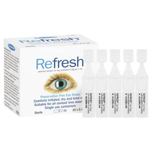 Refresh Preservative Free Eye Drops 30 x 0.4 mL