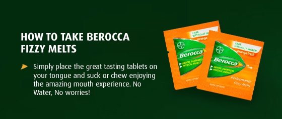 Berocca Boost Energy Vitamin With Guarana