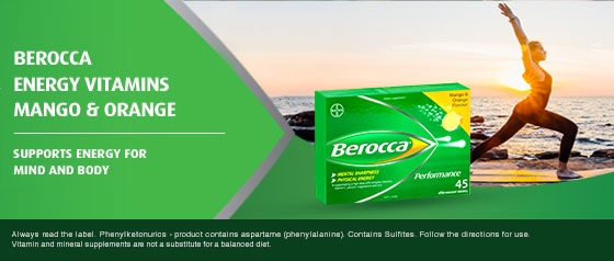 Berocca Boost Energy Vitamin With Guarana