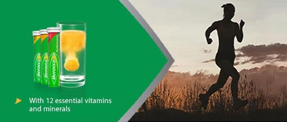 Berocca Energy Vitamin Orange Effervescent Tablets 45 pack