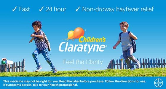 Claratyne Bubblegum Chewable Tablets