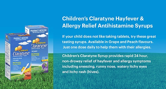 Claratyne Children's Hayfever & Allergy