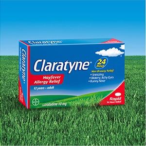 Claratyne Hayfever & Allergy relief