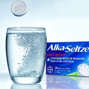 Alka-Seltzer Pain Relief Effervescent Tablets Regular