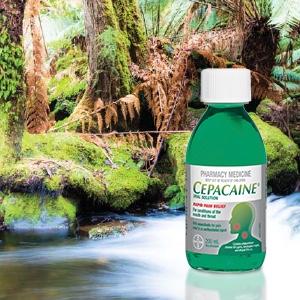 Cepacaine Mouthwash Liquid