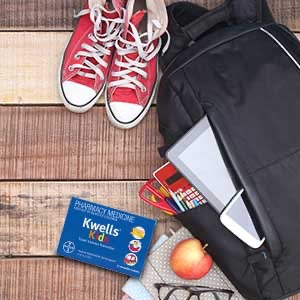 KWELLS Kids Travel Sickness Tablets