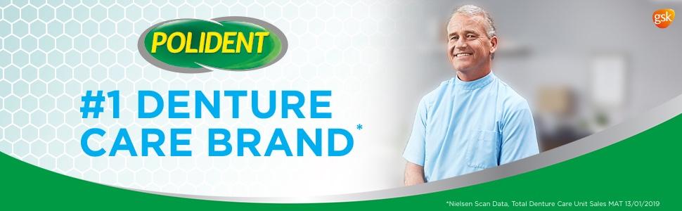 Polident Denture Adhesive Cream Flavour Free 60g