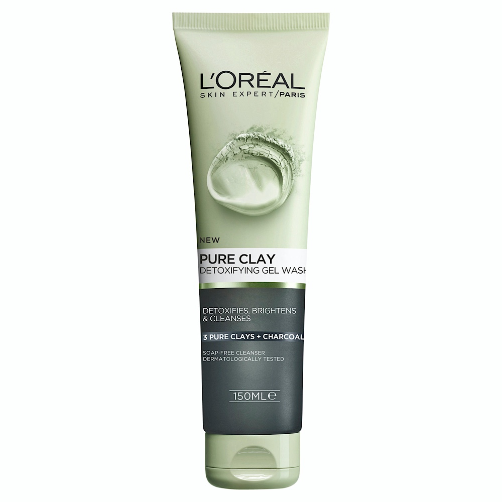 LOP Pure Clay Charcoal Gel Wash