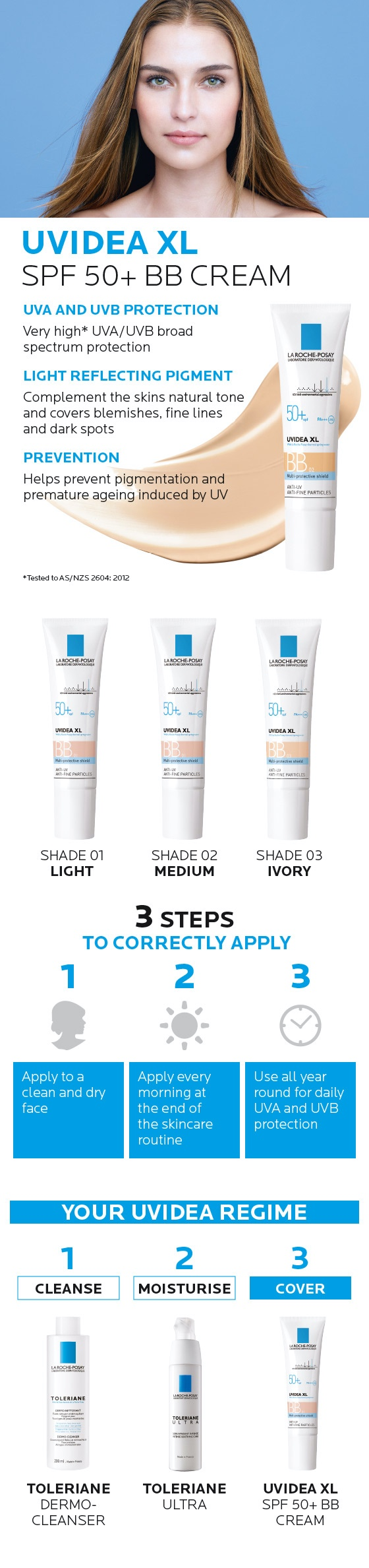 La Roche-Posay Uvidea XL BB Cream Shade 01 Light 30ml