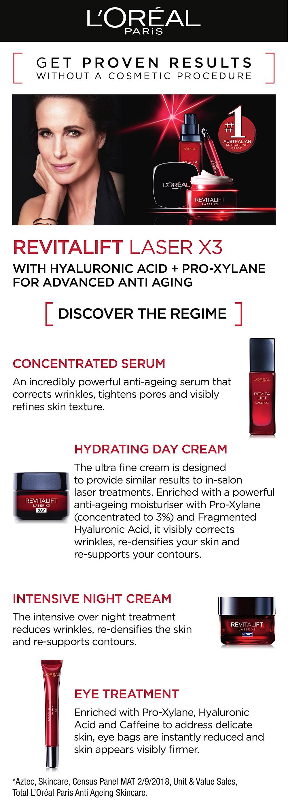 Buy L'Oreal Paris Revitalift Laser Eye Cream 15ml Online at Chemist