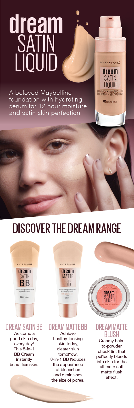 Maybelline Dream Satin BB Cream - Light/Medium