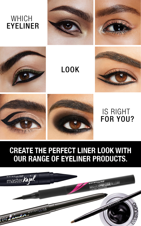 Maybelline Master Liner Soft Pencil Eyeliner - Black (Smuge-proof Water-proof)