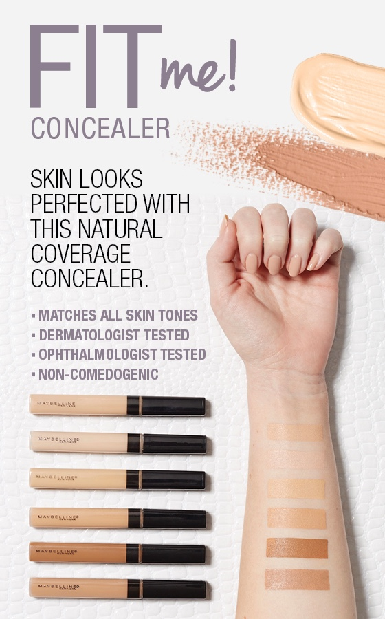 Maybelline Fit Me Natural Coverage Concealer - Light