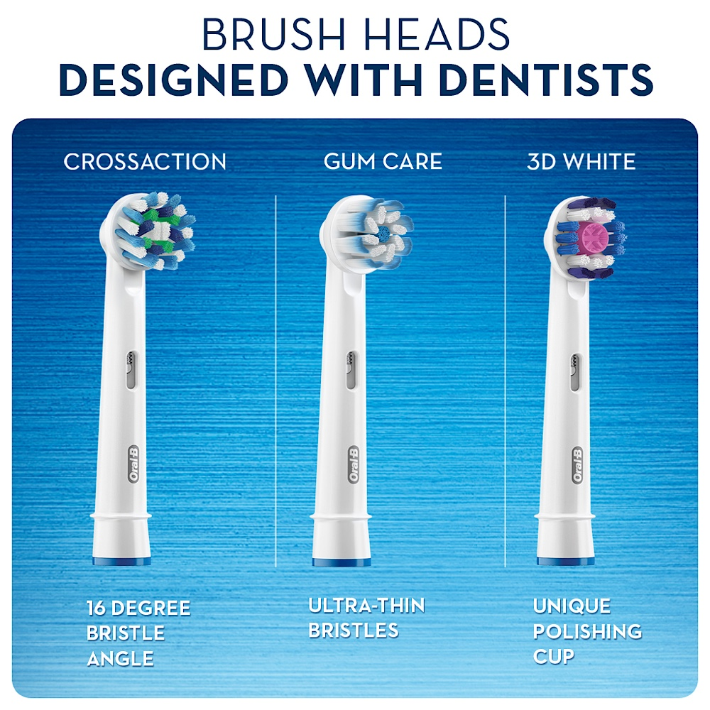 Oral-B Smart Series 4000 White Power Electric Toothbrush (White)