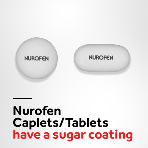 Nurofen S2 Pain and Inflammation Relief Tablets