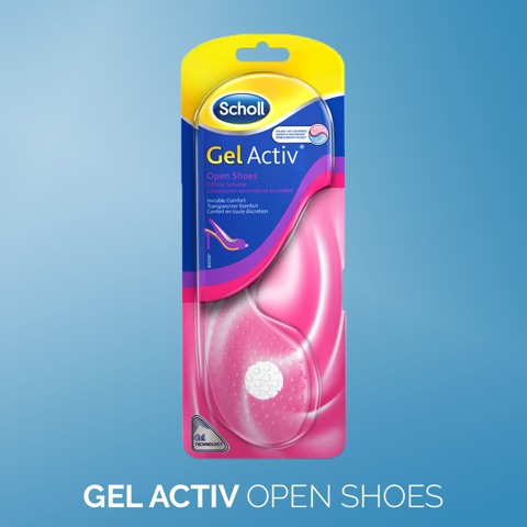 Scholl GelActiv Female Insoles for Everyday Heels