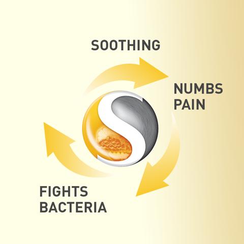 Strepsils Extra Lozenges Honey & Lemon 16s Numbs the Pain