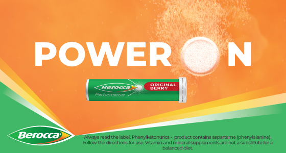 Berocca Energy Vitamin Berry