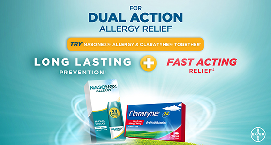 Claratyne Hayfever & Allergy relief