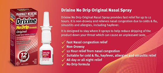 Drixine No Drip Original