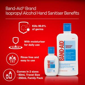 Band-Aid Isopropyl Alcohol