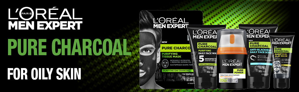 New - Pure Charcoal Clay Mask