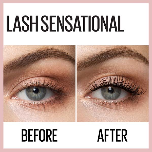 Maybelline Lash Sensational Full Fan Effect Waterproof Mascara - Very Black