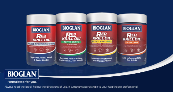 Bioglan Red Krill Oil Double Strength 1000mg 60 Capsules