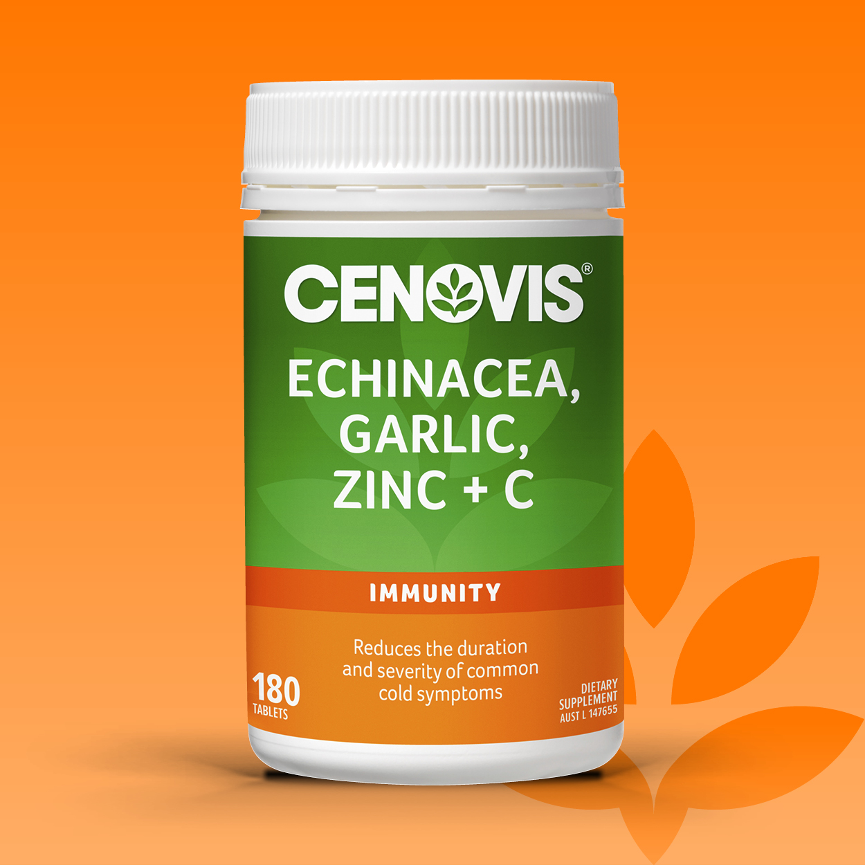 Cenovis Echinacea, Garlic, Zinc & C