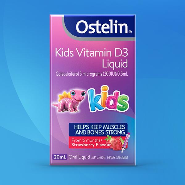 Ostelin Kids Vitamin D3 Liquid